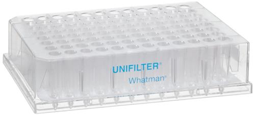 UNIFILTER plates working size 96 well, clear, polystyrene (PS), with GF/B membrane, volume 800 µl (25 pz)